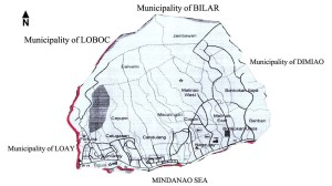 map of lila