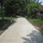 Concreting of Farm to Market Road at Candulang
