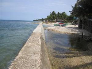 Construction of Sea Wall at Nagsulay