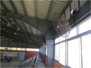 Installation of Wall Fans at Municipal Gymnasium